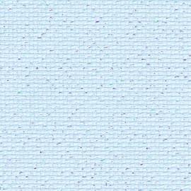 Pale Blue Fleck 14ct Aida 1 Metre by 110cm Width