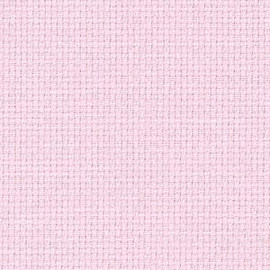 Pale Pink 16ct Aida Fat Quarter 53 by 48cm.
