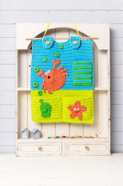 Rockpool Room Tidy Crochet Pattern Booklet By DMC