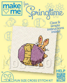 Make me for Springtime Easter Egg Cross Stitch Kit by Mouseloft