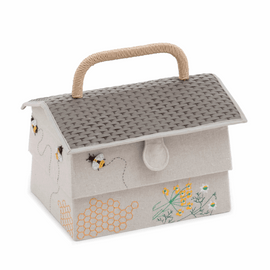 Sewing Box Hive Bee