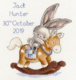 Bebunni rock a bye Cross Stitch Kit by Bothy Threads