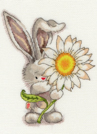 Bebunni Daisy Cross Stitch Kit By Bothy Threads