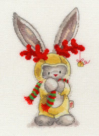Bebunni Rudulf Cross Stitch kit by Bothy threads