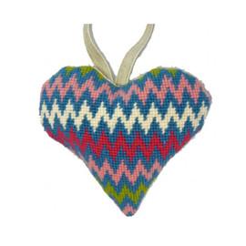 Bargello Heart Tapestry Kit