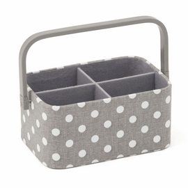Craft Organiser Small Grey Spot