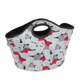 Craft Bag  Handheld Tote Fun Sheep