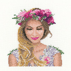Emily Miniature Cross Stitch Kit By Heritage Crafts