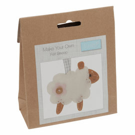 Make your Own Felt Decoration Kit: Sheep
