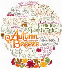 Let's Breeze Into Autumn Cross Stitch Chart By Ursula Michael