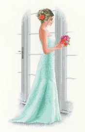 Daisy Elegant Lady Cross Stitch Kit By Heritage