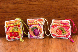 Jam Jar Ornaments Cross Stitch Kit By Riolis