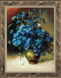 Cornflower Cross Stitch Kit By Riolis