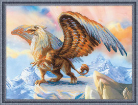 Griffin Cross Stitch Kit By Riolis