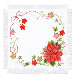 Christmas Table Topper Cross Stitch Kit By Riolis