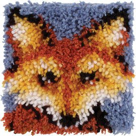 "Mr Fox Latch Hook Kit 8""X8"" By Caron Wonderart"