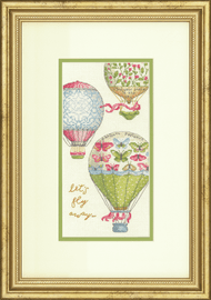 Counted Cross Stitch Kit: Let's Fly Away By Dimensions