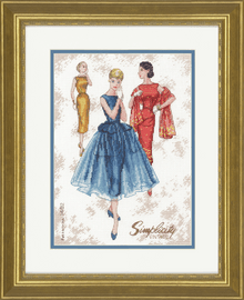 Counted Cross Stitch Kit: Simplicity Vintage By Dimensions