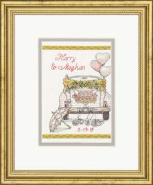 Counted Cross Stitch Kit: Wedding Day By Dimensions