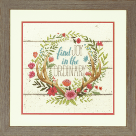 Counted Cross Stitch Kit: Rustic Bloom By Dimensions