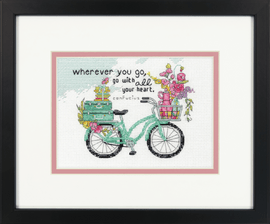 Counted Cross Stitch: Wherever You Go By Dimensions