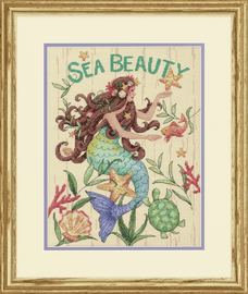 Counted Cross Stitch: Sea Beauty By Dimensions
