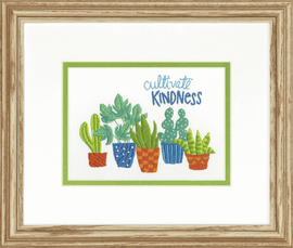 Embroidery Kit: Crewel: Cultivate Kindness By Dimensions