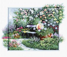 Blooming Garden Cross Stitch Bu Luca S