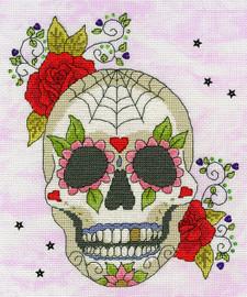 Sugar Skull Cross Stitch Kit By Bothy Threads