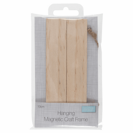 Frame: Hanging Magnetic Wooden: 13cm