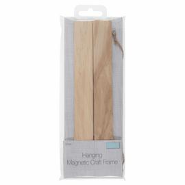 Frame: Hanging Magnetic Wooden: 21cm