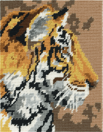 Tapestry Kit: Starter: Tiger By Anchor