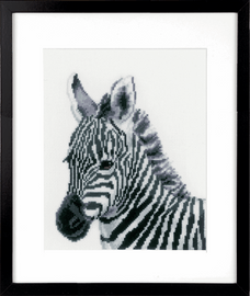 Counted Cross Stitch Kit: Zebra By Vervaco