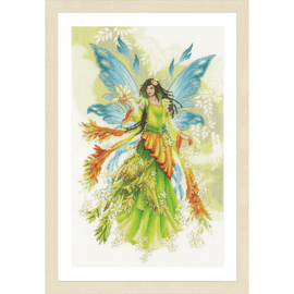 Counted Cross Stitch Kit: Fantasy Elf Fairy By Lanarte