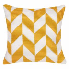 Angled Clamping Stitch Cushion Kit: Herringbone Pattern