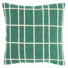 Angled Clamping Stitch Cushion Kit: Squares