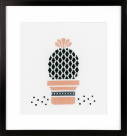 Counted Cross Stitch Kit: Succulent 3 By Vervaco