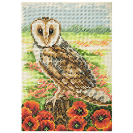 Counted Cross Stitch Kit: Essentials: Owl by Anchor