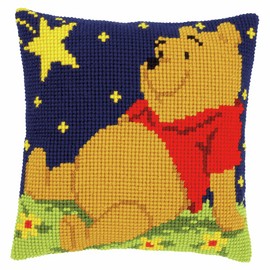 Cross Stitch Cushion Kit: Disney: Winnie the Pooh