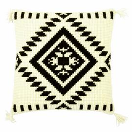 Cross Stitch Kit: Cushion: Ethnic Print 2 By Vervaco