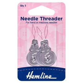 Needle Threader: Aluminium By Hemline