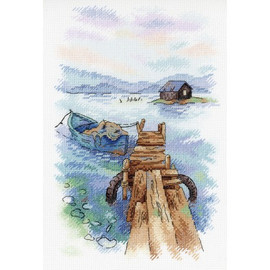 MORNING AT THE QUAY Cross Stitch Kit by MP-Studia