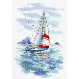 Sea Regatta Cross Stitch Kit by MP Studia