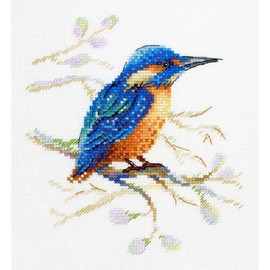Feathered Observer Cross stitch Kit by MP Studia