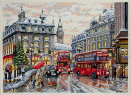 London Cross Stitch Kit By  Merejka