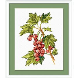 Berries Cross Stitch Kit By MP Studia