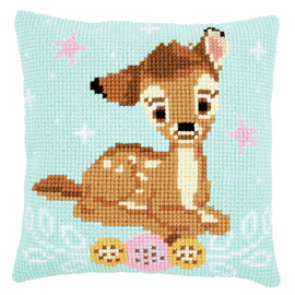 Cross Stitch Cushion Kit: Disney: Bambi By Vervaco