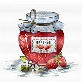 Strawberry Jam Cross Stitch Kit by MP Studia