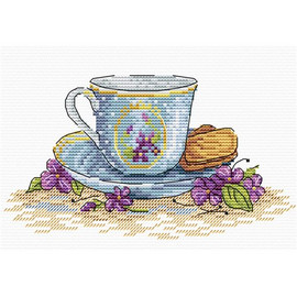 Cookies for the Tea Cross Stitch Kit by MP Studia