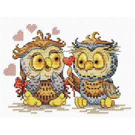 Love in the air cross stitch Kit by MP studia